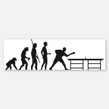 Evolution table tennis A.png Bumper Bumper Sticker