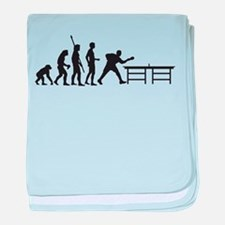 Evolution table tennis A.png baby blanket