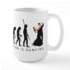 evolution dancing couple Mug