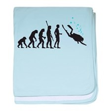 evolution diving baby blanket