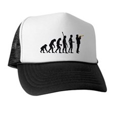 evolution trumpet player Trucker Hat