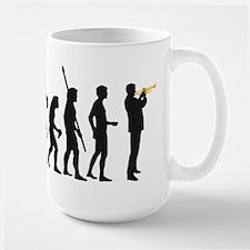 evolution trumpet player Mug