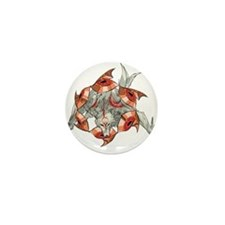 Amaterasu Mini Button