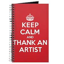 K C Thank Artist Journal