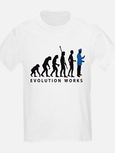 evolution uniformed man T-Shirt