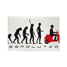 evolution scooter Rectangle Magnet