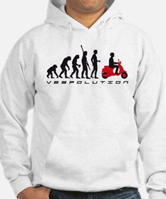 evolution scooter Hoodie Sweatshirt