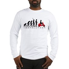 evolution scooter Long Sleeve T-Shirt