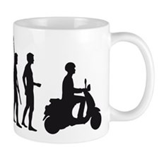 evolution scooter Mug