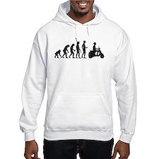 evolution scooter Hoodie Sweatshirt