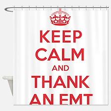 K C Thank Emt Shower Curtain