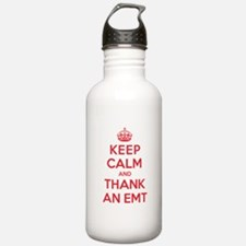 K C Thank Emt Water Bottle