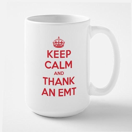 K C Thank Emt Large Mug