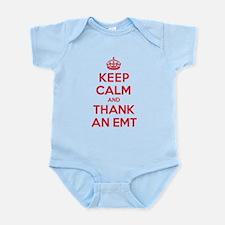 K C Thank Emt Infant Bodysuit