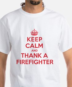 K C Thank Firefighter Shirt