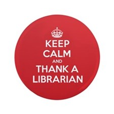 "K C Thank Librarian 3.5"" Button"