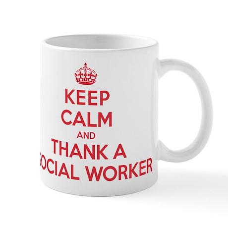 K C Thank Social Worker Mug
