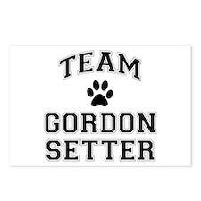 Team Gordon Setter Postcards (Package of 8)