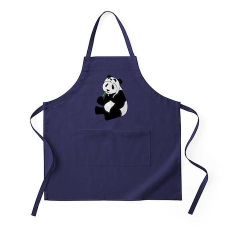 Panda Hat Apron (dark)