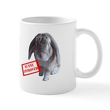Bunny approved mug