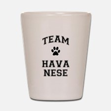 Team Havanese Shot Glass