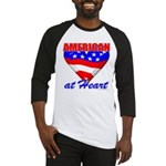 American At Heart Baseball Jersey