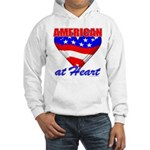 American At Heart Hooded Sweatshirt