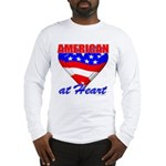 American At Heart Long Sleeve T-Shirt