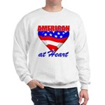 American At Heart Sweatshirt