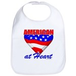 American At Heart Bib