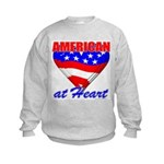 American At Heart Kids Sweatshirt