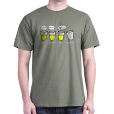 Optimist Pessimist Realist Opportunist T-Shirt