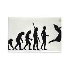 evolution volleyball Rectangle Magnet