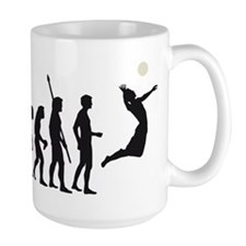 evolution volleyball Mug