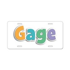 Gage Spring11 Aluminum License Plate