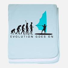 evolution windsurfer baby blanket