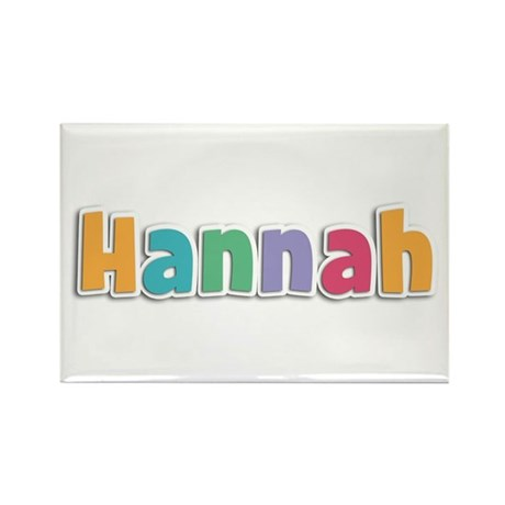Hannah Spring11 Rectangle Magnet