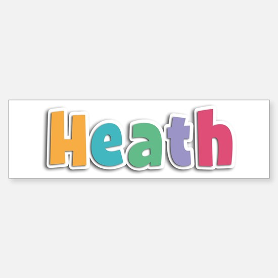 Heath Spring11 Bumper Bumper Bumper Sticker