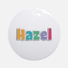 Hazel Spring11 Round Ornament