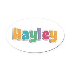Hayley Spring11 Oval Car Magnet