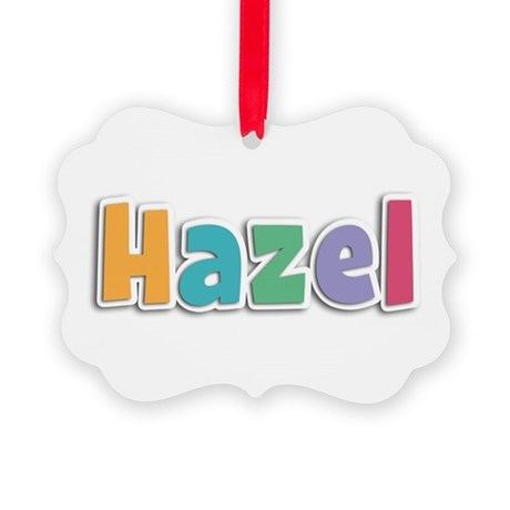 Hazel Spring11 Picture Ornament