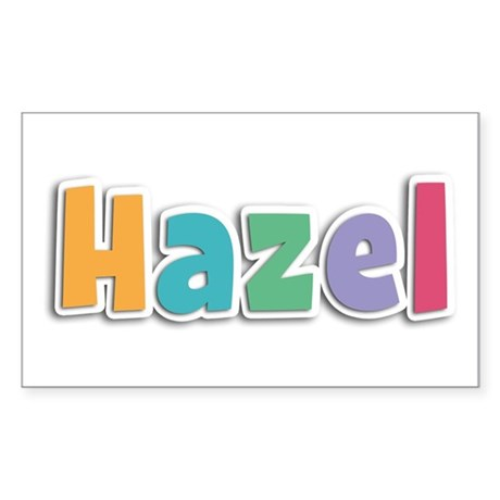Hazel Spring11 Rectangle Sticker