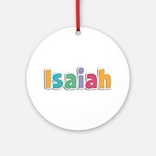 Isaiah Spring11 Round Ornament