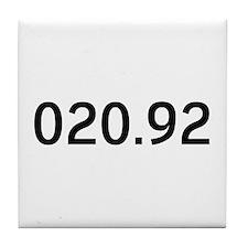 020.92<br> Tile Coaster