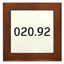 020.92<br> Framed Tile