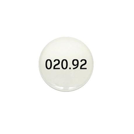 020.92<br> Mini Button (100)