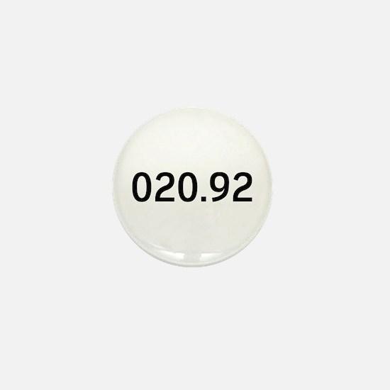 020.92<br> Mini Button