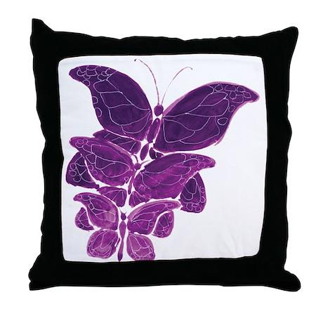 Butterflies--Awakening hrow Pillow
