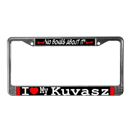 NB_Kuvasz License Plate Frame