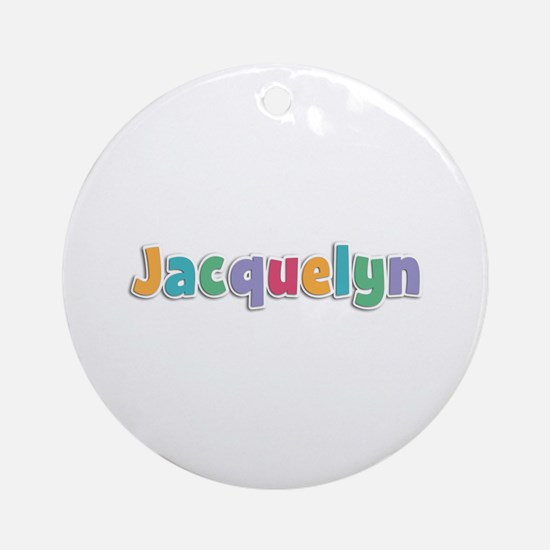 Jacquelyn Spring11 Round Ornament